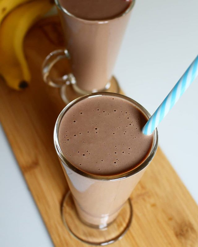 Koktajl kakaowo-bananowy